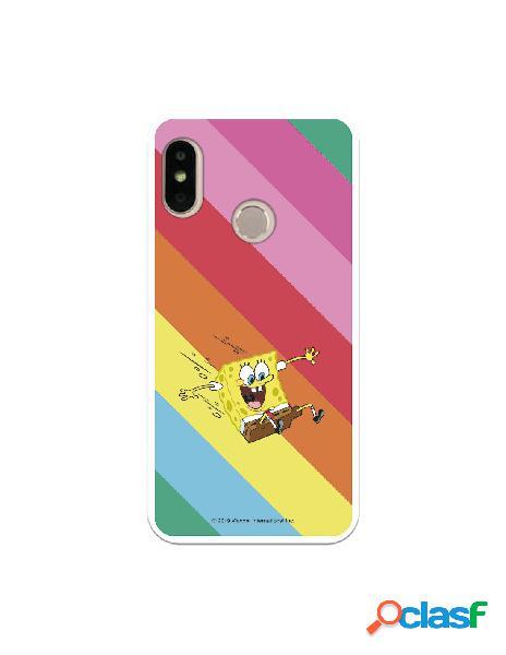 Funda para Xiaomi Mi A2 Lite Oficial de Nickelodeon Bob