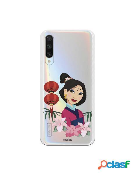 Funda para Xiaomi Mi A3 Oficial de Disney Mulan Rostro -