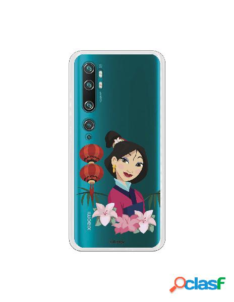Funda para Xiaomi Mi Note 10 Oficial de Disney Mulan Rostro
