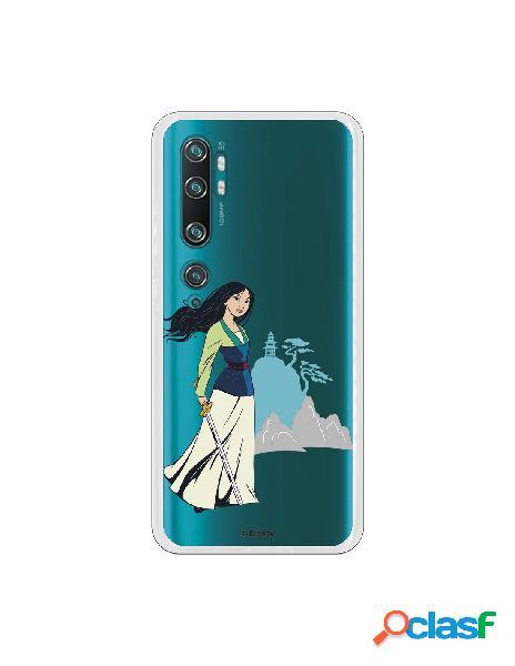 Funda para Xiaomi Mi Note 10 Oficial de Disney Mulan Templo