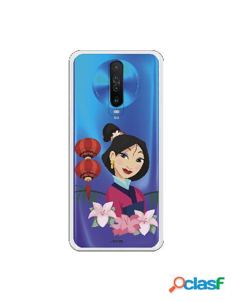 Funda para Xiaomi Redmi K30 Oficial de Disney Mulan Rostro -