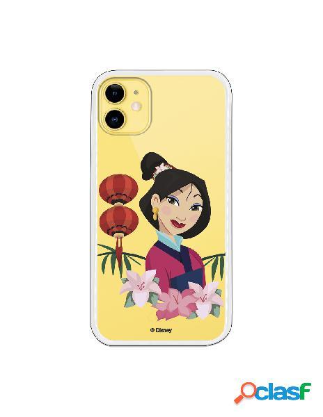 Funda para iPhone 11 Oficial de Disney Mulan Rostro - Mulan