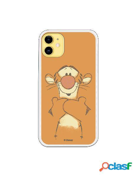 Funda para iPhone 11 Oficial de Disney Tigger Sonrisas -