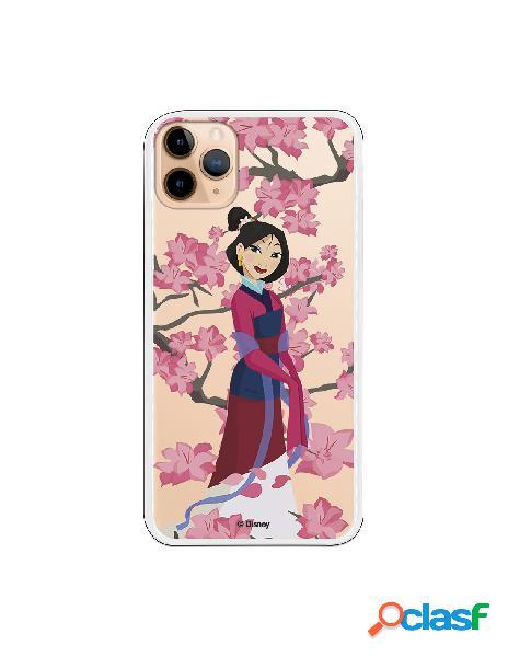 Funda para iPhone 11 Pro Max Oficial de Disney Mulan Vestido