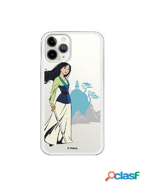 Funda para iPhone 11 Pro Oficial de Disney Mulan Templo -