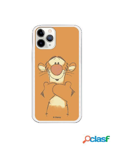 Funda para iPhone 11 Pro Oficial de Disney Tigger Sonrisas -