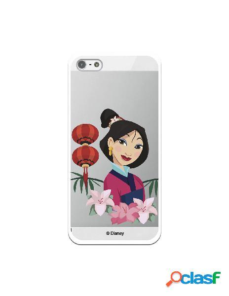 Funda para iPhone 5 Oficial de Disney Mulan Rostro - Mulan