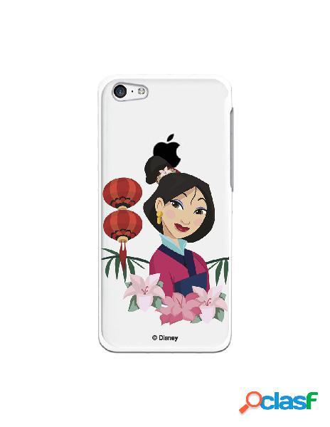 Funda para iPhone 5C Oficial de Disney Mulan Rostro - Mulan
