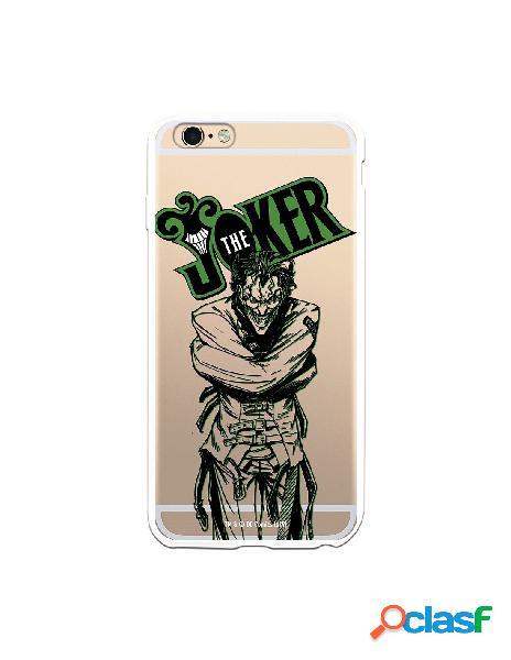 Funda para iPhone 6 Plus Oficial de DC Comics Joker Madness