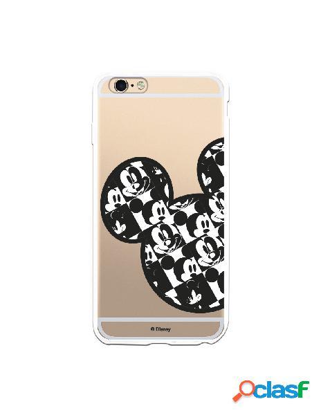 Funda para iPhone 6 Plus Oficial de Disney Mickey Silueta
