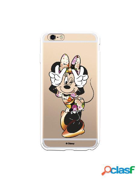 Funda para iPhone 6 Plus Oficial de Disney Minnie Posando -