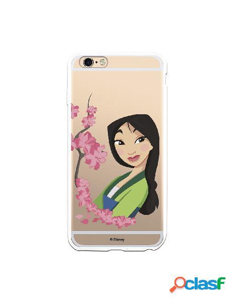 Funda para iPhone 6 Plus Oficial de Disney Mulan Amapolas -