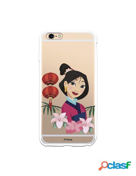 Funda para iPhone 6 Plus Oficial de Disney Mulan Rostro -