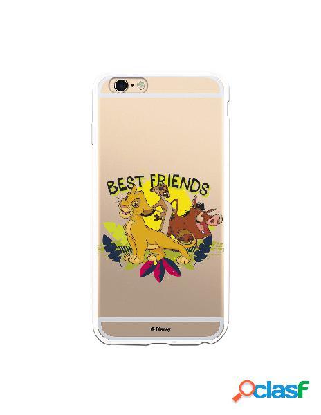 Funda para iPhone 6 Plus Oficial de Disney Simba, Timón y
