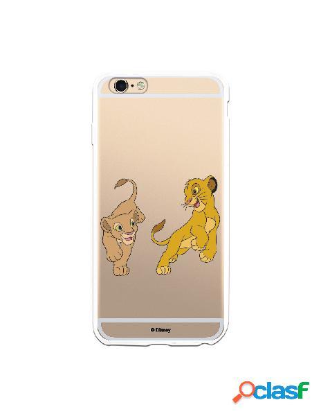 Funda para iPhone 6 Plus Oficial de Disney Simba y Nala