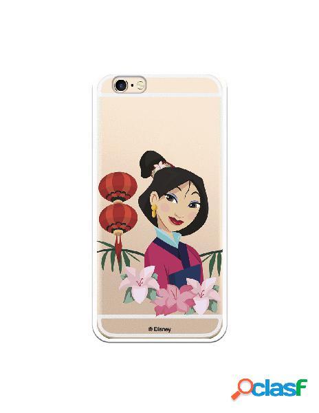 Funda para iPhone 6S Oficial de Disney Mulan Rostro - Mulan