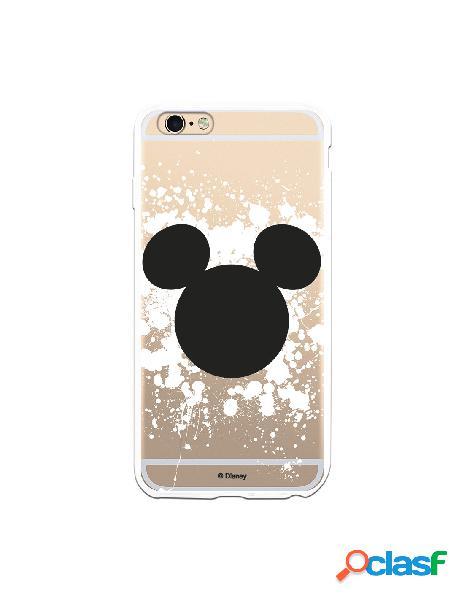 Funda para iPhone 6S Plus Oficial de Disney Mickey Siluetas