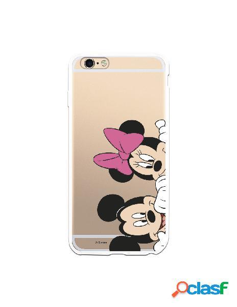 Funda para iPhone 6S Plus Oficial de Disney Mickey y Minnie