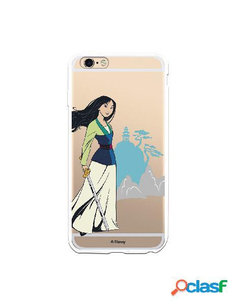 Funda para iPhone 6S Plus Oficial de Disney Mulan Templo -