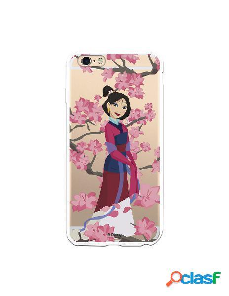 Funda para iPhone 6S Plus Oficial de Disney Mulan Vestido