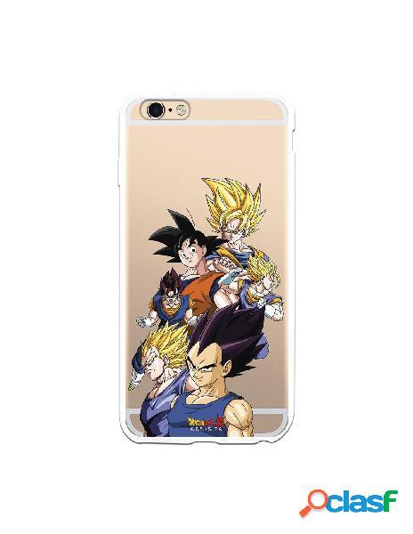 Funda para iPhone 6S Plus Oficial de Dragon Ball Goku y