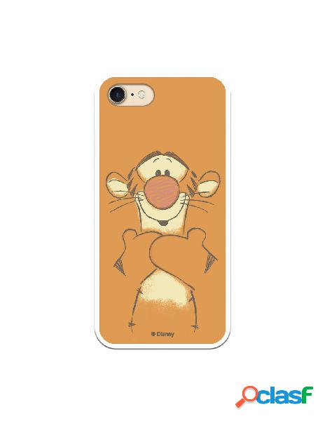 Funda para iPhone 7 Oficial de Disney Tigger Sonrisas -