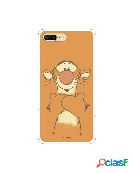Funda para iPhone 7 Plus Oficial de Disney Tigger Sonrisas -