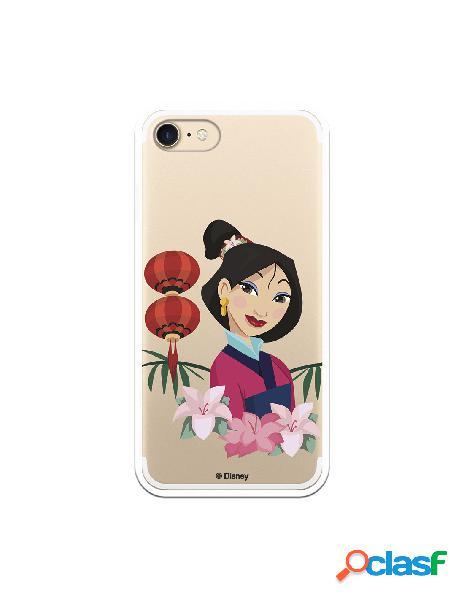 Funda para iPhone 8 Oficial de Disney Mulan Rostro - Mulan