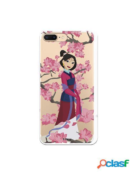 Funda para iPhone 8 Plus Oficial de Disney Mulan Vestido