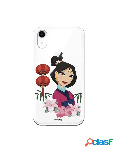 Funda para iPhone XR Oficial de Disney Mulan Rostro - Mulan