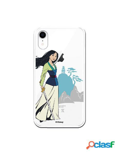 Funda para iPhone XR Oficial de Disney Mulan Templo - Mulan