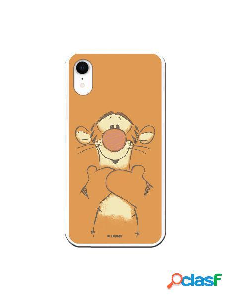 Funda para iPhone XR Oficial de Disney Tigger Sonrisas -