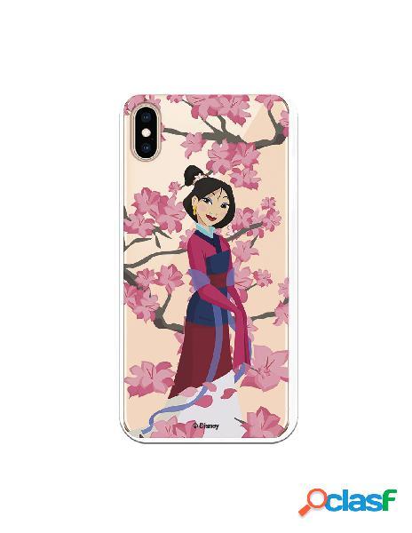 Funda para iPhone XS Max Oficial de Disney Mulan Vestido