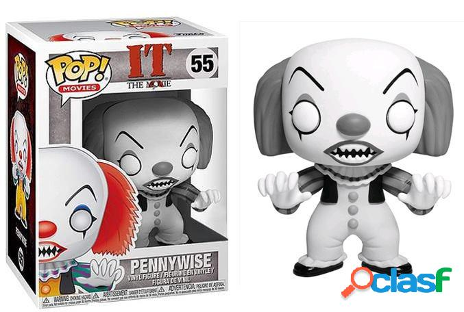 Funko Pop Pennywise Blanco Y Negro Exclusivo