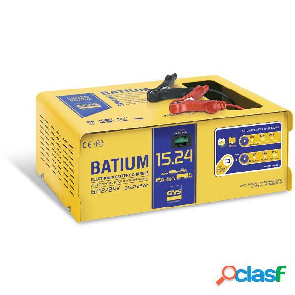 GYS Cargador de baterías BATIUM 15-24 35-225 Ah 450 W