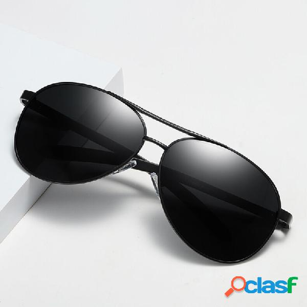 Gafas de sol polarizadas de color marrón anti-ultravioleta