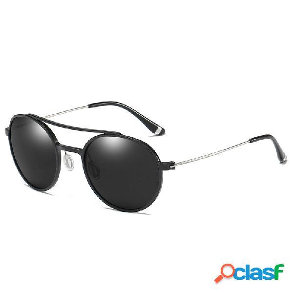 Gafas de sol polarizadas del marco de aluminio del magnesio