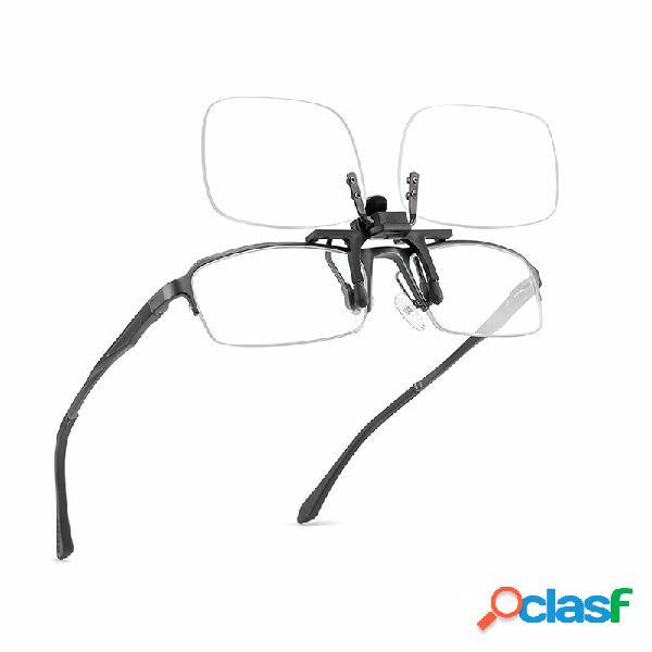 Gafas de sol unisex de aleación de acero inoxidable con