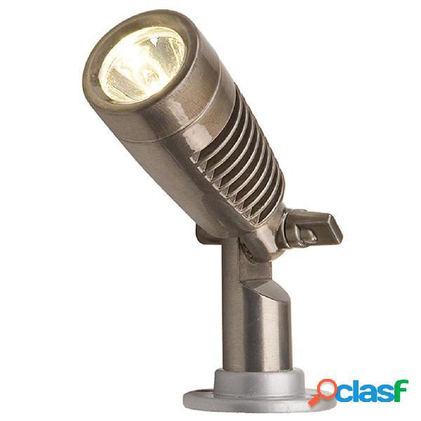 Garden Lights Foco LED Minus Gunmetal aluminio 3096121