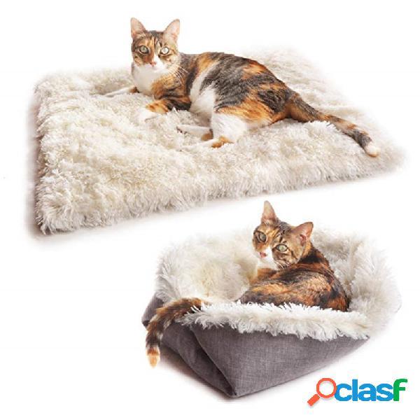 Gato Alfombrilla para mascotas Alfombrilla de doble uso Gato