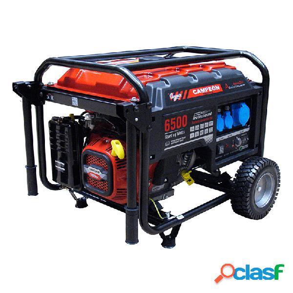 Generador campeon ct8000a arranque electrico + bateria avr