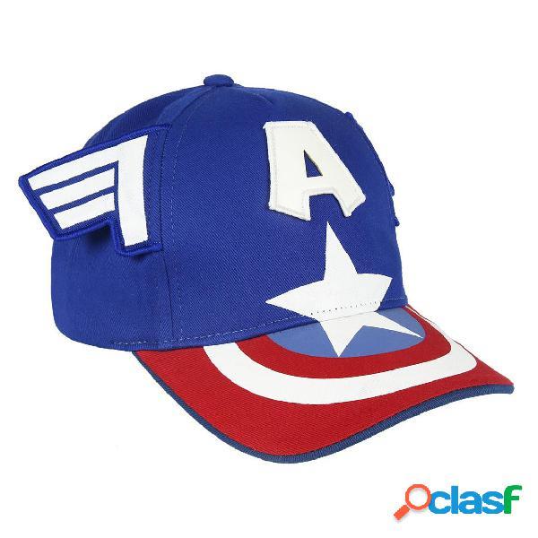 Gorra Capitan America para niño