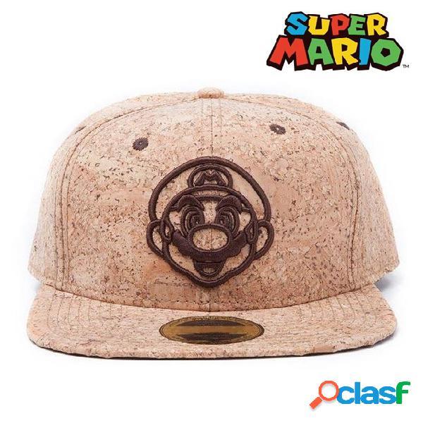 Gorra Super Mario corcho