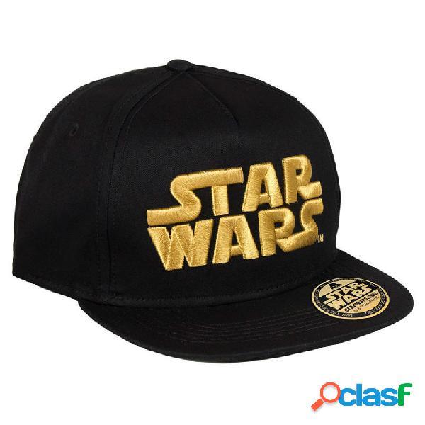 Gorra plana infantil Star Wars