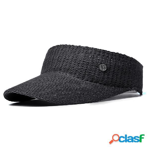 Gorro de béisbol de lana de punto para mujer Sombrero de