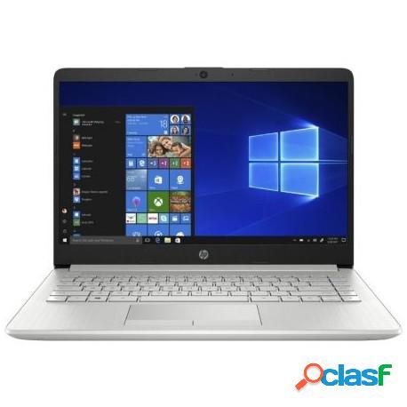 """HP 14-DK1004NS AMD Ryzen 3 3250U/8GB/512GB SSD/14"""" Plata"""
