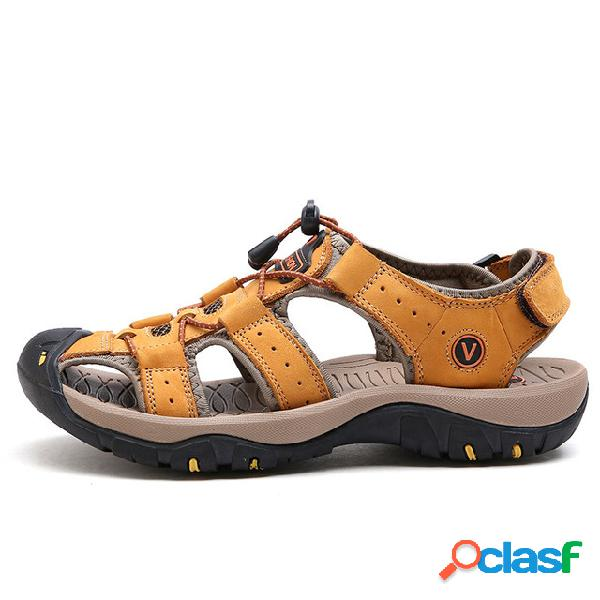 Hombre De gran tamaño Sandalias Playa Zapatos
