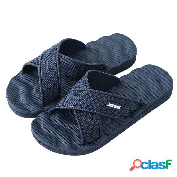 Hombres EVA Comfy Open Toe Indoor Home Casual zapatillas