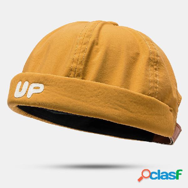 Hombres Mujer Sección delgada Sombrero Hip Hop Sombrero