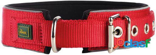 Hunter Collar Neopren Vario Plus para perros color rojo y